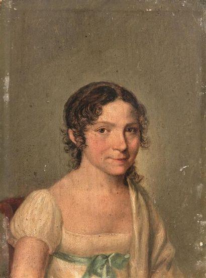 École française, vers 1820, entourage de...