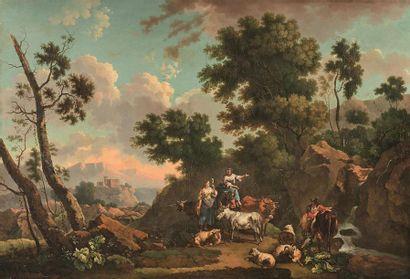 L Le ROY *** École fran çaise 1793 Scène...
