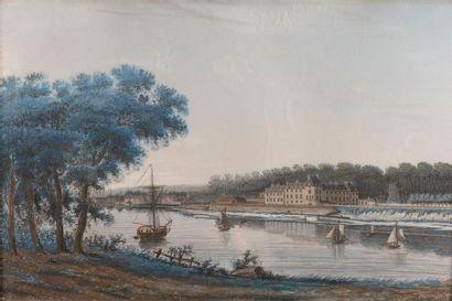 École française, vers 1780, suiveur de Louis...