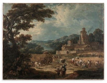 Pierre Salomon DOMENCHIN de CHAVANNES (1672/73...