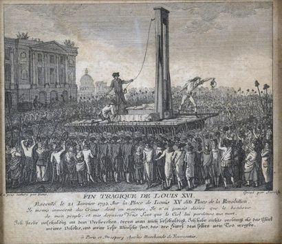 École française vers 1793 Fin tragique de...