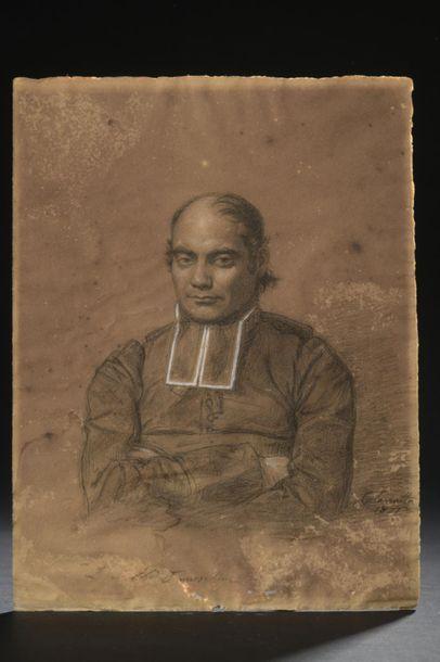Luigi CALAMATTA (1801-1869) Portrait d'un...