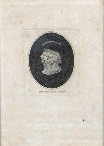 École française vers 1793 Les martyrs de...
