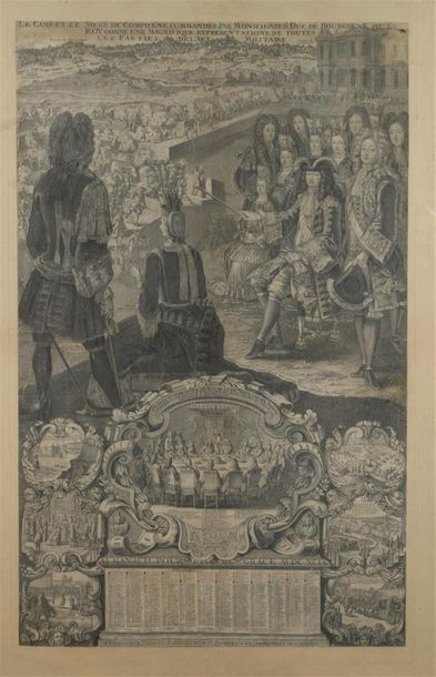 École française, 1689 et 1699 Deux Almanachs...