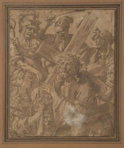 Maarten de VOS (1532-1603) Sainte Véronique...