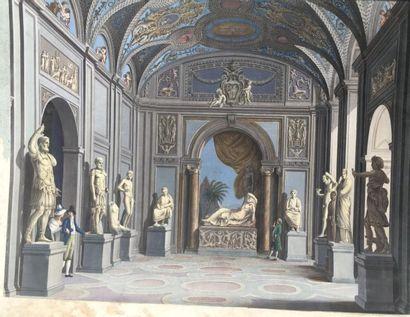 Attribué à Louis François Cassas (1756-1827)...