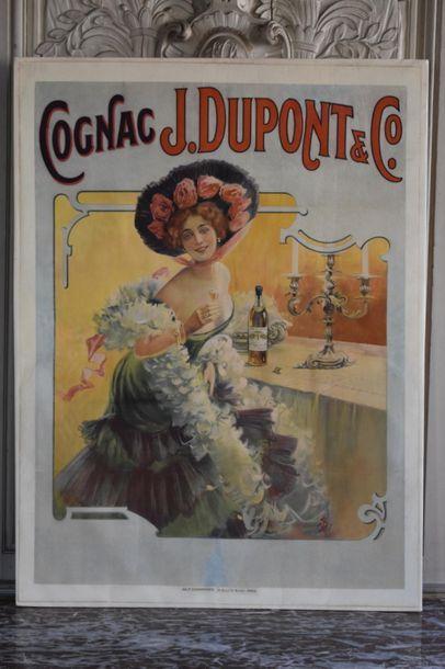 Vincent BOCCHINO (XIXe-XXe siècle) Cognac...