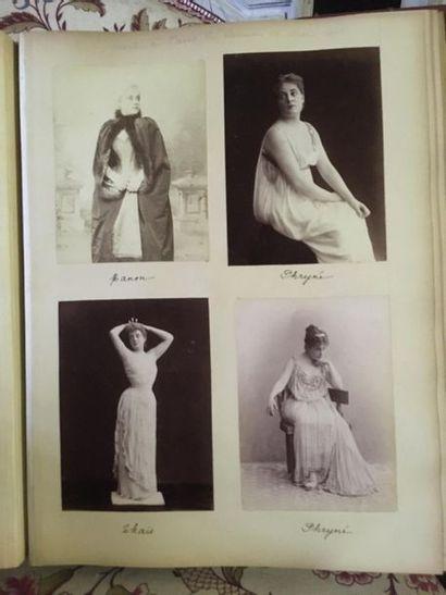 CURIOSA Album de photographies représentant...