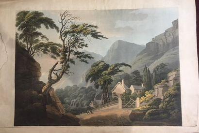 Cartwright, école anglaise vers 1800 Deux...