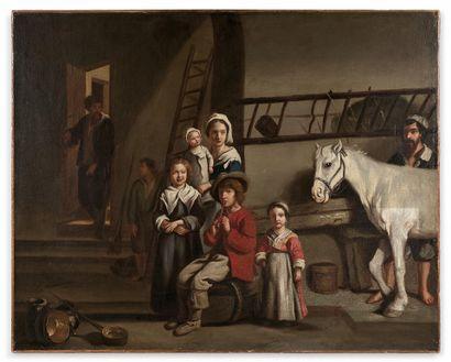 École française du XVIIe siècle, suiveur...