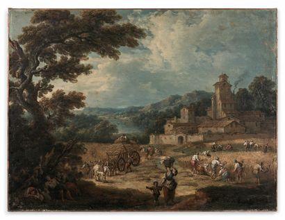 Pierre Salomon DOMENCHIN de CHAVANNES (1672/73-1744)...