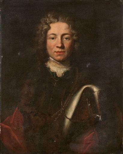 École FRANCAISE vers 1700  Portrait d'un...