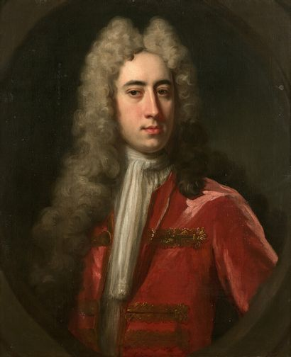 Attribué à Michael DAHL (1656-1743)  Portrait...