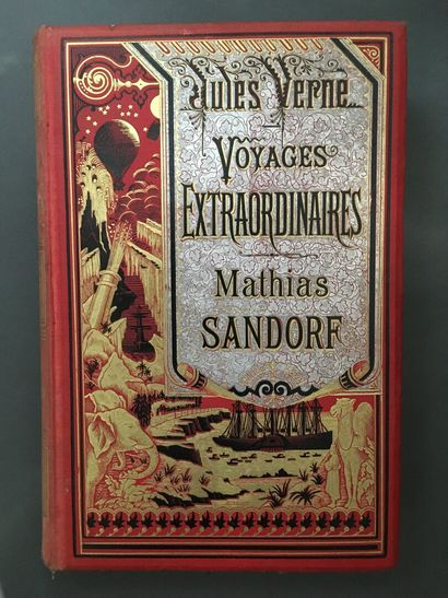 VERNE (Jules). Mathias Sandorf. Paris, J....