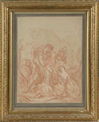 École ITALIENNE du XVIIIe siècle  Tancrède...