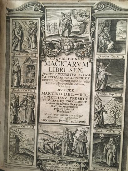 DELRIO (Martin Antonio). Disquisitionum  magicarum...