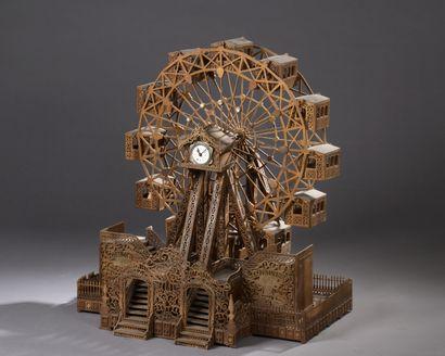 Maquette de l'Exposition universelle  Grande...