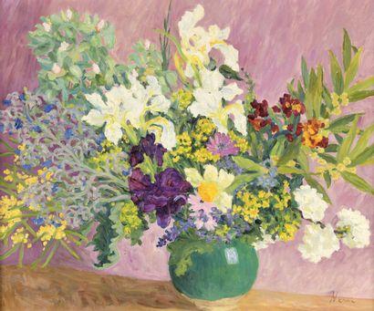 Marie-Lucie NESSI-VALTAT (1910-1992)  Bouquet...