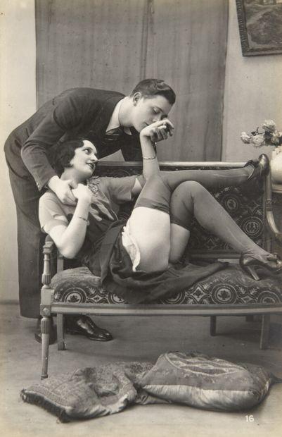 Couples et trios  Photographies coquines,...