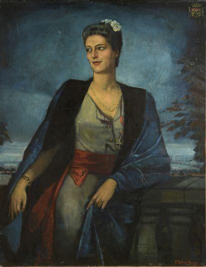 Federico BELTRAN-MASSES (1885-1949)  Portraits...