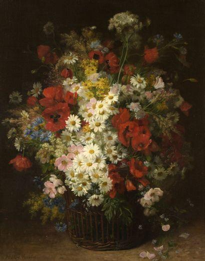 Hortense DURY VASSELON (1860-1924)  Bouquet...