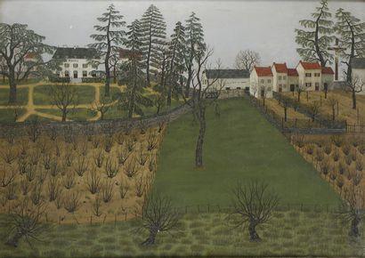 Maurice LOIRAND (1922- 2008)  Paysage  Huile...