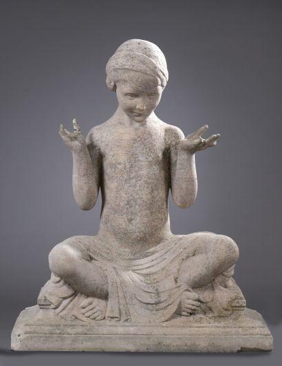 Janet SCUDDER (1869/73-1940)  Enfant assis...