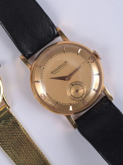 JAEGER LECOULTRE - Montre bracelet d'homme...