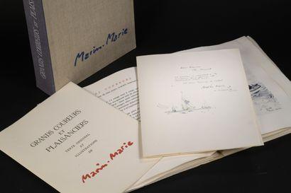 MARIN-MARIE, Grands Coureurs et Plaisanciers, Livre d'or du Yachting, Paris,  Klein,...