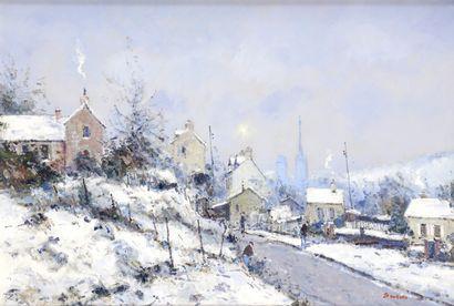 Jean-Pierre DUBORD (né en 1949)  Rouen, le...