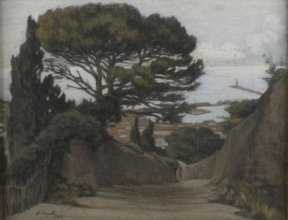 Charles MAZELIN (1882-1964)  Bord de mer,...