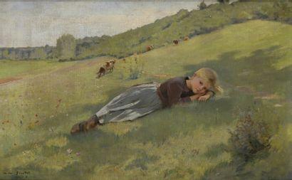 Pierre André BROUILLET (1857-1914)  Petite...