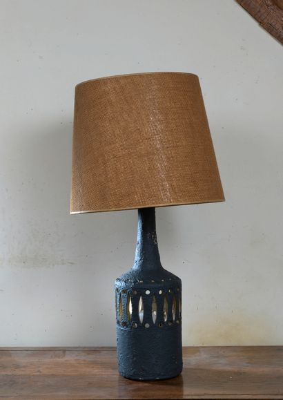 Raphaël GIARUSSO (1925-1986)  Pied de lampe...
