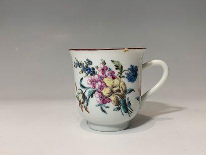 CHINE, décoré en Europe, XVIIIe siècle -...