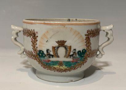 CHINE, Compagnie des Indes, XVIIIe siècle,...