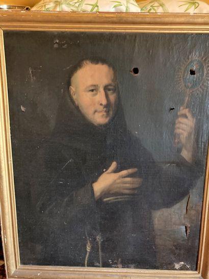 École FRANCAISE du XIXe siècle.  Portrait...
