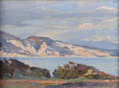 Pierre DELAUNAY (1870-1915)  Menton, 23 avril...