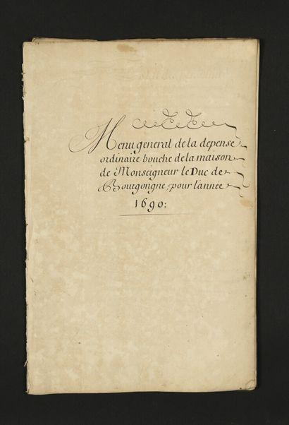 [Louis de France, duc de BOURGOGNE (1682-...
