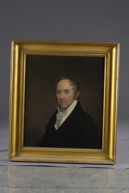 Attribué à Charles Howard HODGES (Londres 1764 - Amsterdam 1831)  Portrait d'homme...
