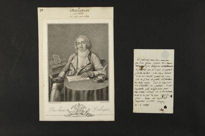 Nicolas DALAYRAC (1753-1809) compositeur....