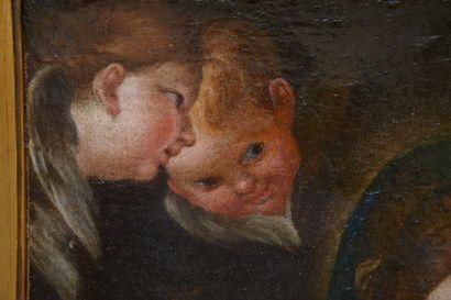 École ROMAINE de la fin du XVIIIe siècle, suiveur de Carlo MARATTA  Vierge à l'Enfant...