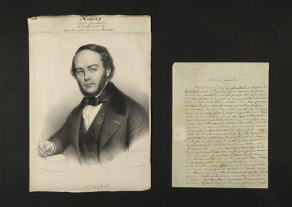 Fromental HALÉVY (1799-1862) compositeur....