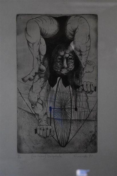 RUONDO (?) (XXe siècle)  Le Cirque,