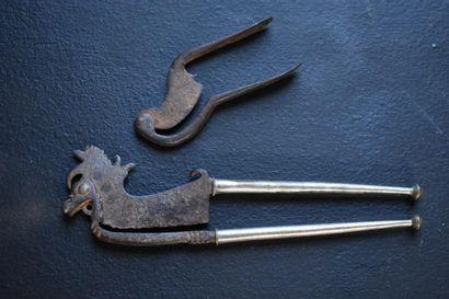 Deux paires de ciseaux à bétel, Inde, XIXe...