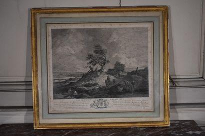 D'après Philips WOUWERMAN (1619-1668)  Les...
