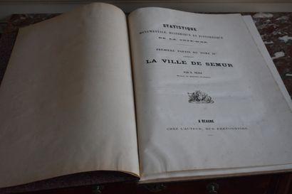 Eugène NESLE (1822-1871)  Statistique monumentale, historique et pittoresque de...