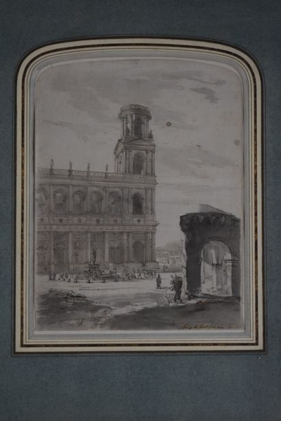 Attribué à Pierre Antoine DEMACHY (1723-1807)...