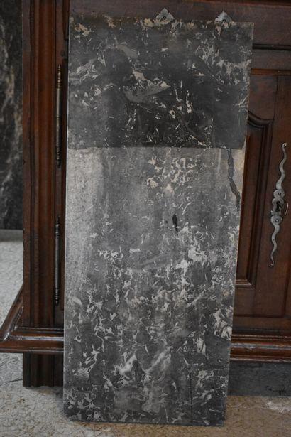 Marbre Gris de Saint Anne de console, XVIIIe...