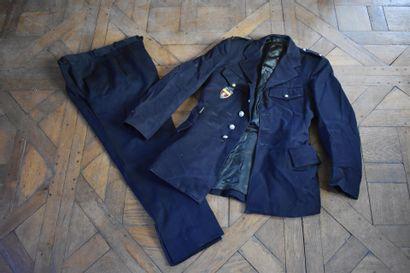 UNIFORME DE POLICIER de la Ville de Paris...