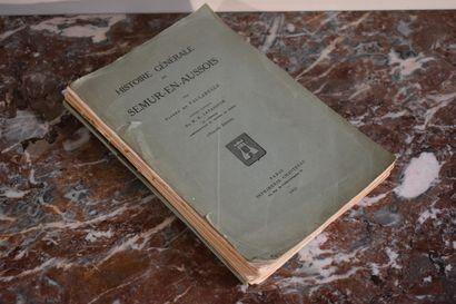 Histoire générale de Semur-en-Auxois, par...